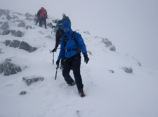 Winter mountaineering (photo: MCofS)