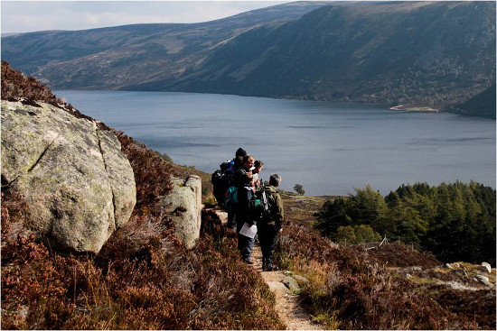 Volunteer path survey, Lochnagar