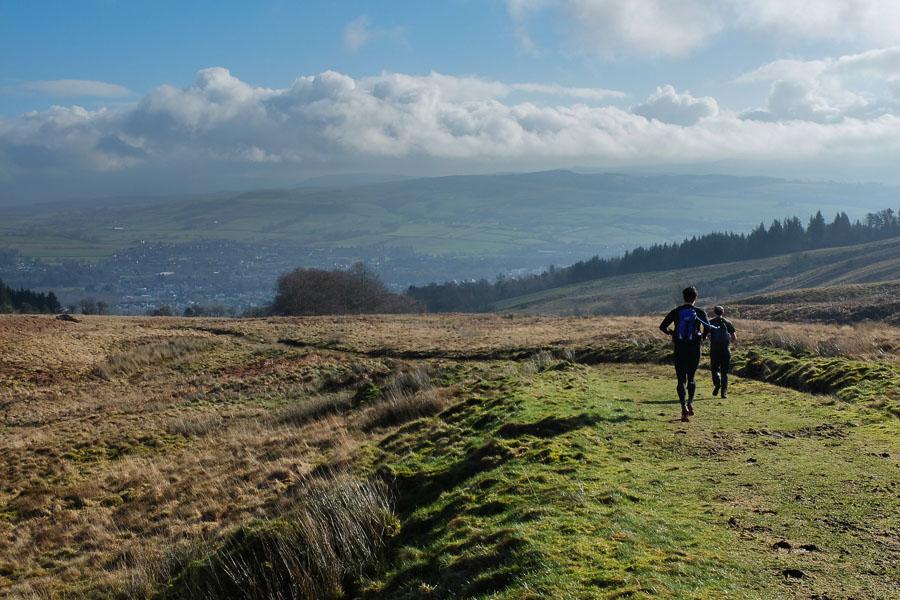 Runners on the John Muir Way
