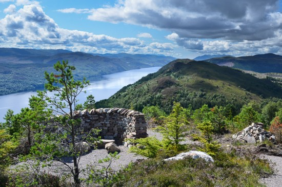 Viewpoint on GGW High Route between  Invermoriston and Drumnadrochit