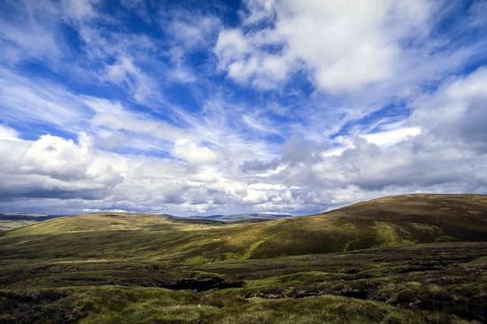 Allt Duine hills - © Chris Townsend