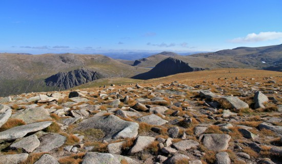 The Cairngorm plateau in autumn