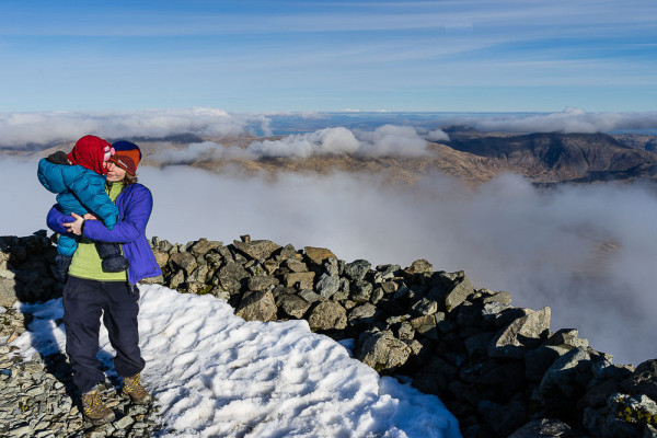 Bairn on the Ben – an inversion on Ben More, Mull