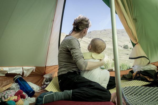 First baby wild camp