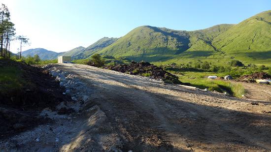 Hydro track, Glen Quoich