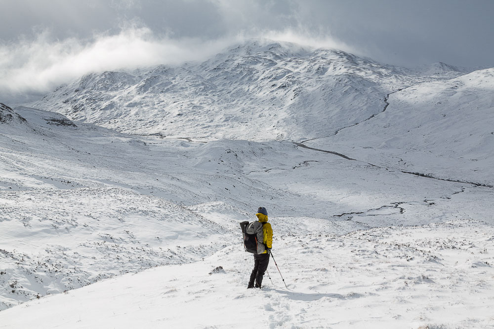 iso 50, 40mm, f13, 1/200th – looking towards the Grey Corries