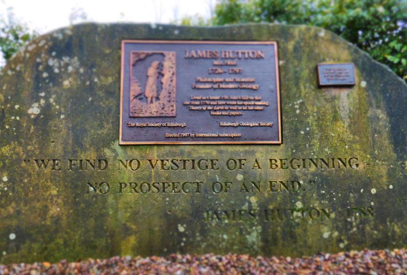 James Hutton's most famous words