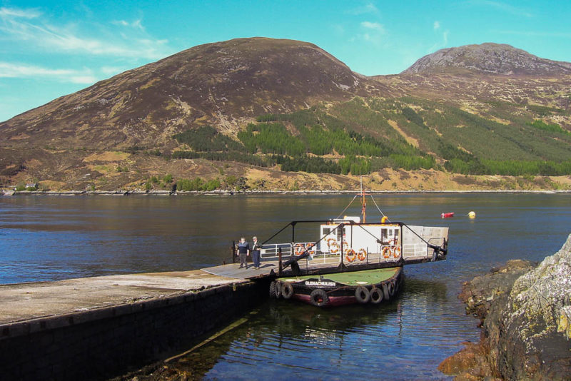 Kylerhea ferry