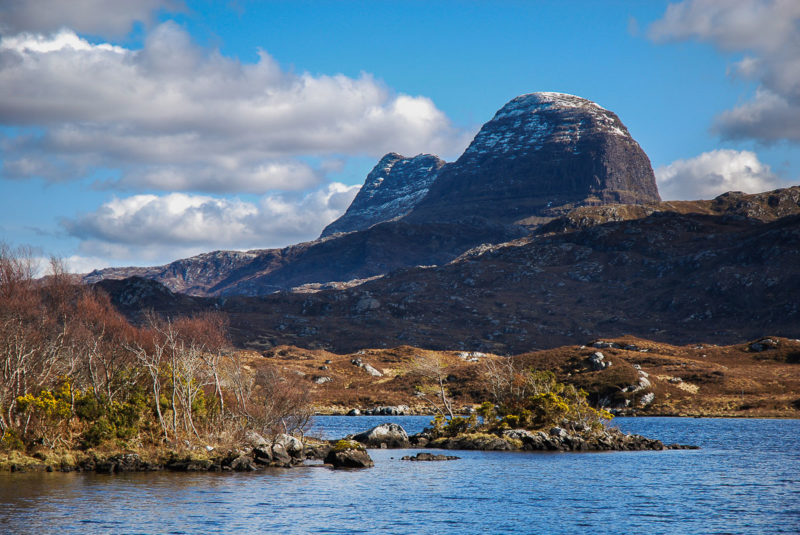 The John Muir Trust are appealing for funds to repair the path up Suilven