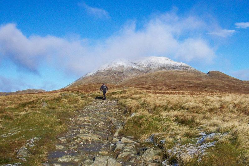 The main path up Ben Lomond