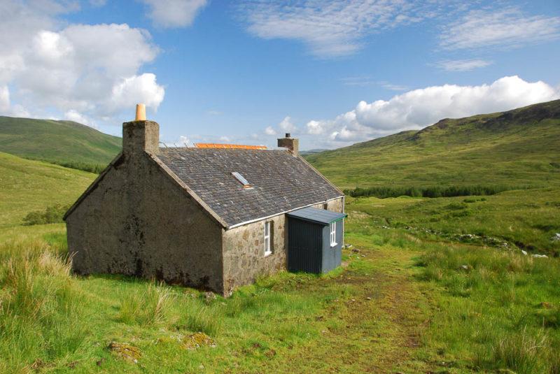 Tomsleibhe bothy, Isle of Mull