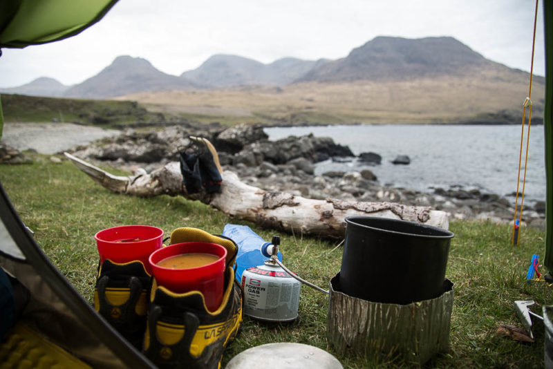 Soup on the Isle of Rum