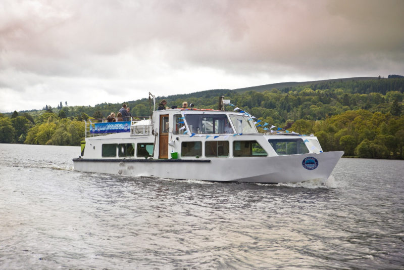 waterbus Loch Lomond & The Trossachs National Park