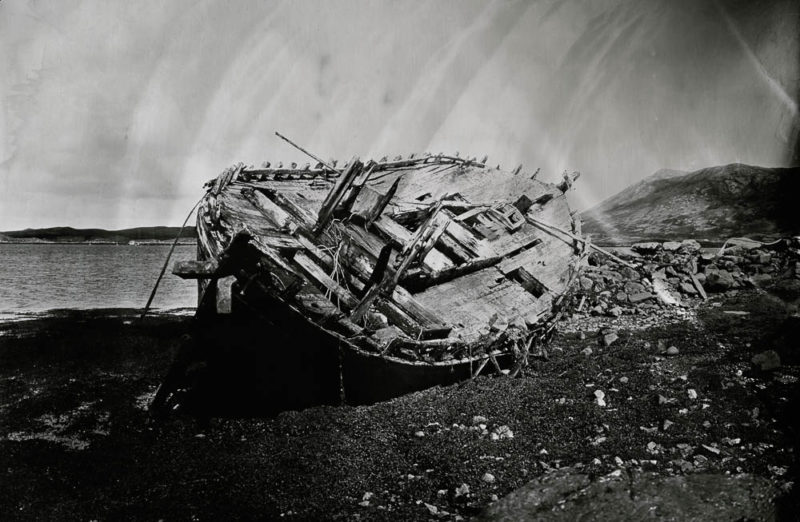 Wreck of the Speedwell, North Uist