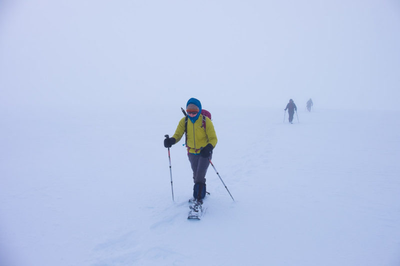 Poor visibility on the Cairngorms