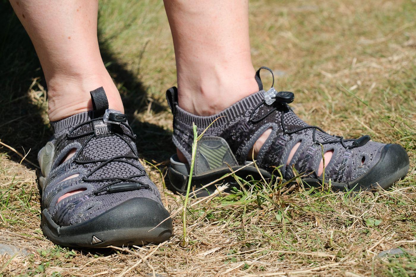 Gear Review: Keen Evofit sandals