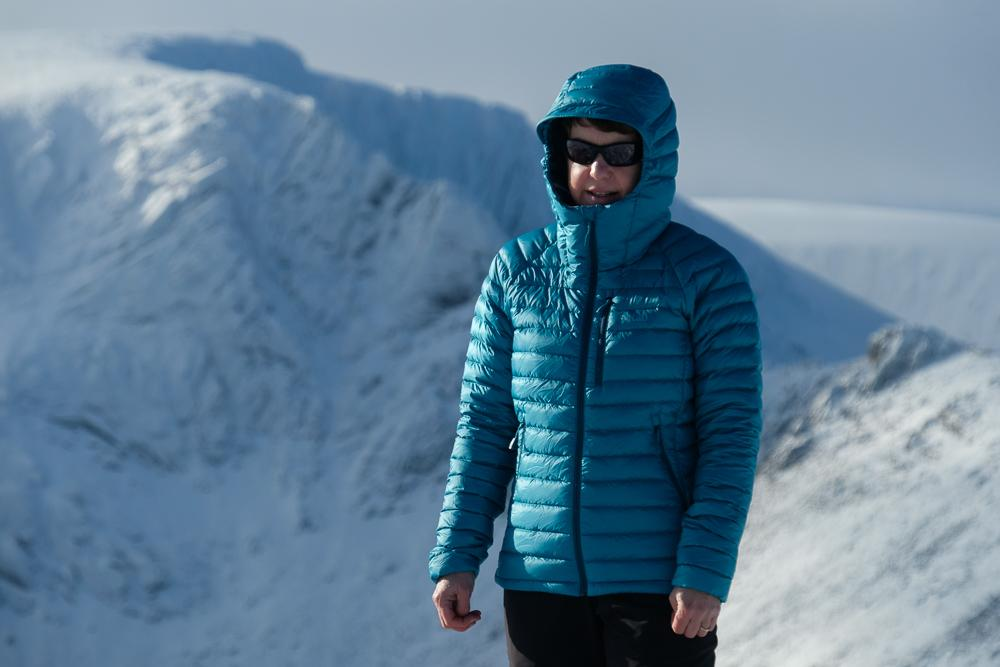 f1853a3629e Gear Review: Rab Microlight Alpine down jacket | Walkhighlands