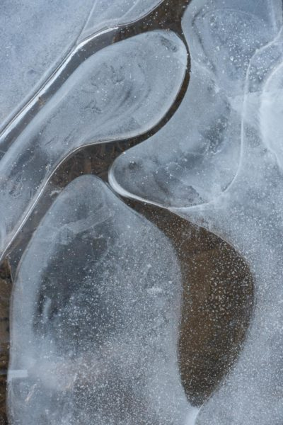 Ice formations, Resolis, Black Isle