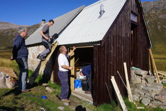 Building new toilet
