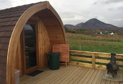Skye Pods, Harrapool, near Broadford
