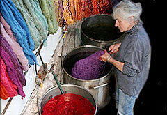 Shilasdair - Yarns and Dyeing, Waternish