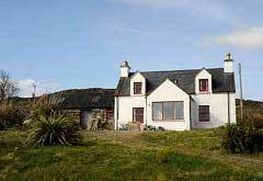 House with the Red Gate, Second Coast, near Gruinard Bay