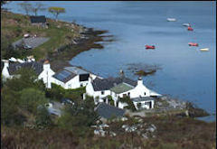 The Shore Houses, Badachro, near Gairloch