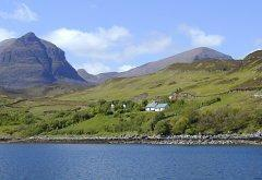 Unapool House Cottages, Kylesku