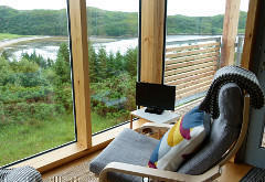 Lazybed Cabin Accommodation, Inverkirkaig, near Lochinver