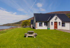 Lochside Cottages, Leckmelm, near Ullapool